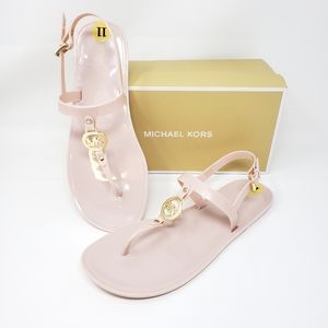Michael Kors Sandals MK Sondra Jelly Soft Pink